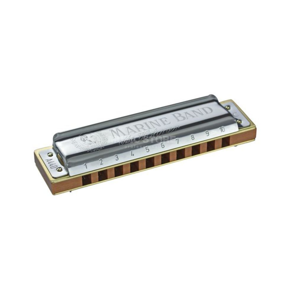 "Hohner Marine Band  ""Classic"" D 20 Stimmzungen Productafbeelding"