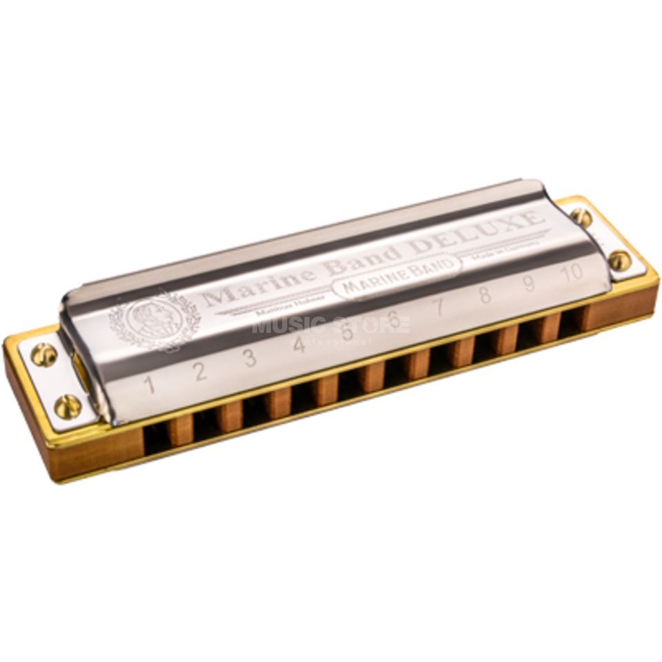 Hohner Marine Band Deluxe G  Product Image
