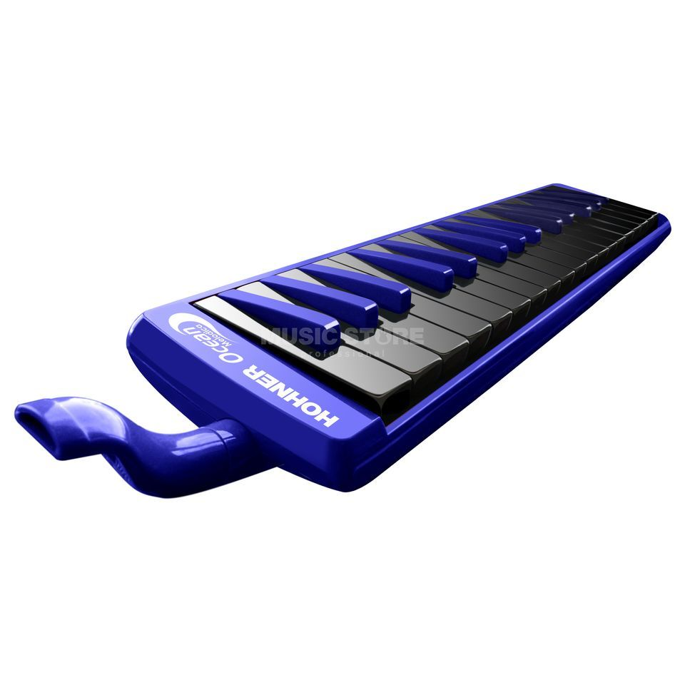 "Hohner Melodica 32 ""Ocean"" incl. Bag and Accessories Produktbillede"