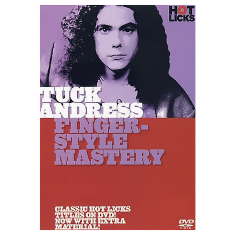 Hotlicks Videos Andress - Fingerstyle Mastery Hot Licks, DVD Produktbild