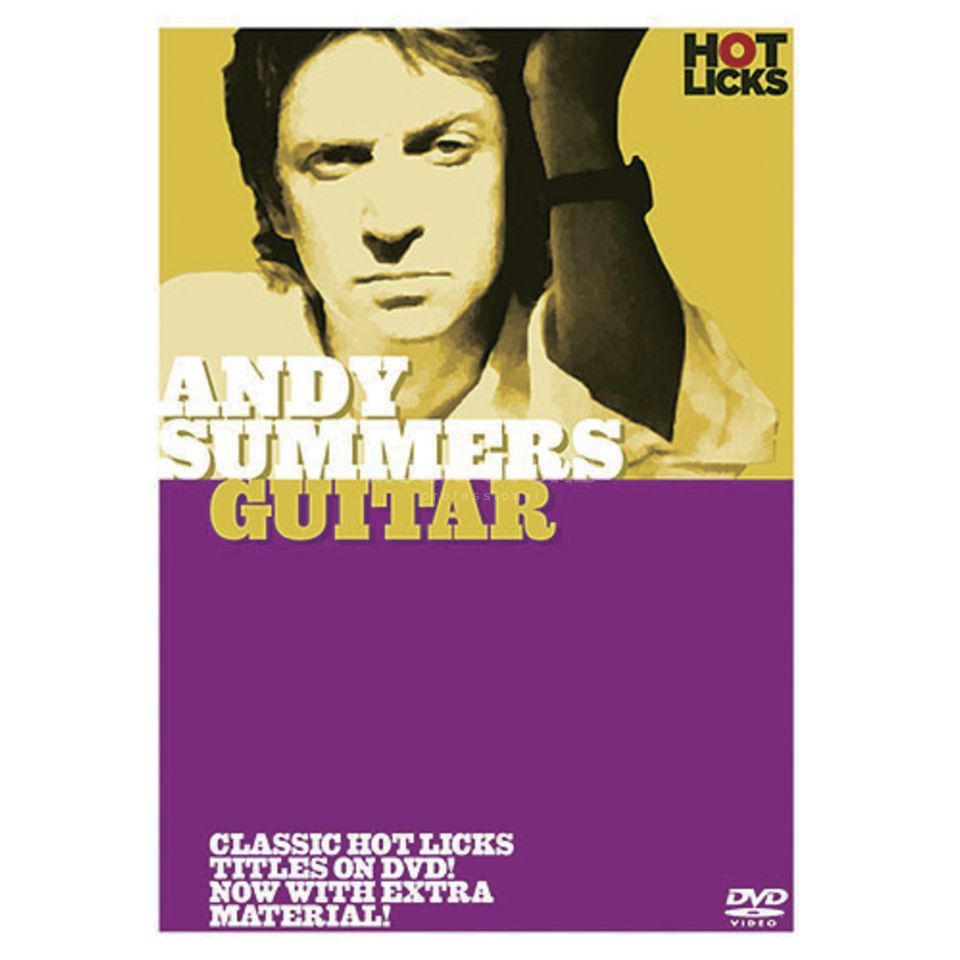 Hotlicks Videos Andy Summers - Guitar Hot Licks, DVD Produktbillede