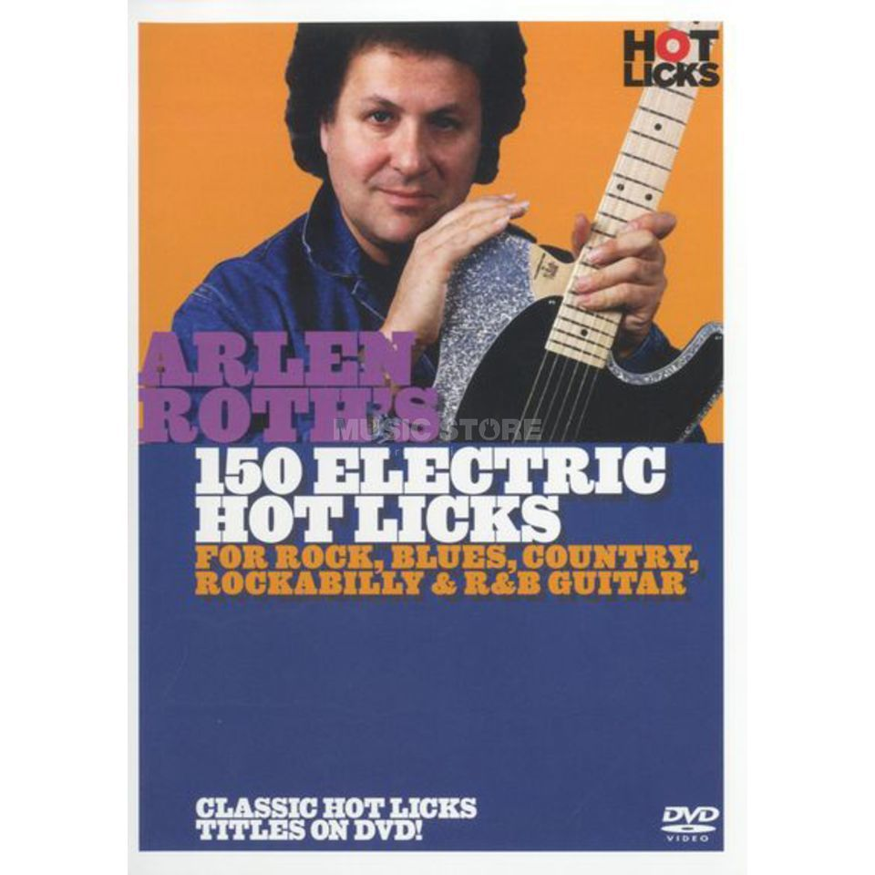 Hotlicks Videos Arlen Roth's 150 Electric Hot Hot Licks, DVD Produktbild