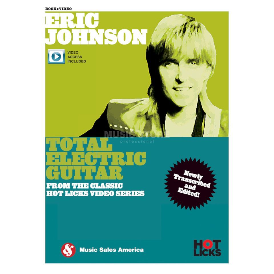 Hotlicks Videos Eric Johnson: Total Electric Guitar Product Image