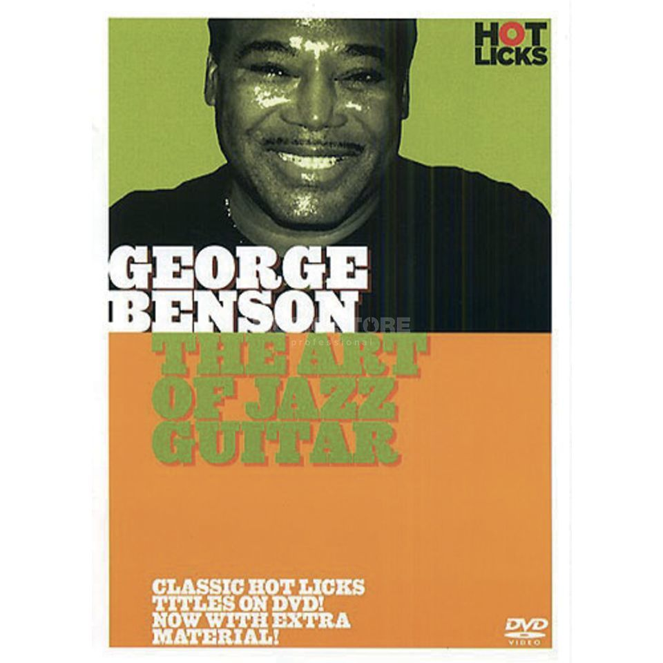 Hotlicks Videos George Benson - Art Jazz Hot Licks, DVD Produktbild