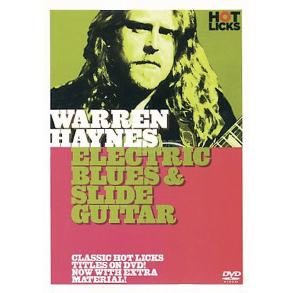 Hotlicks Videos Haynes,W - Blues & slide Hot Licks Guitar, DVD Produktbild