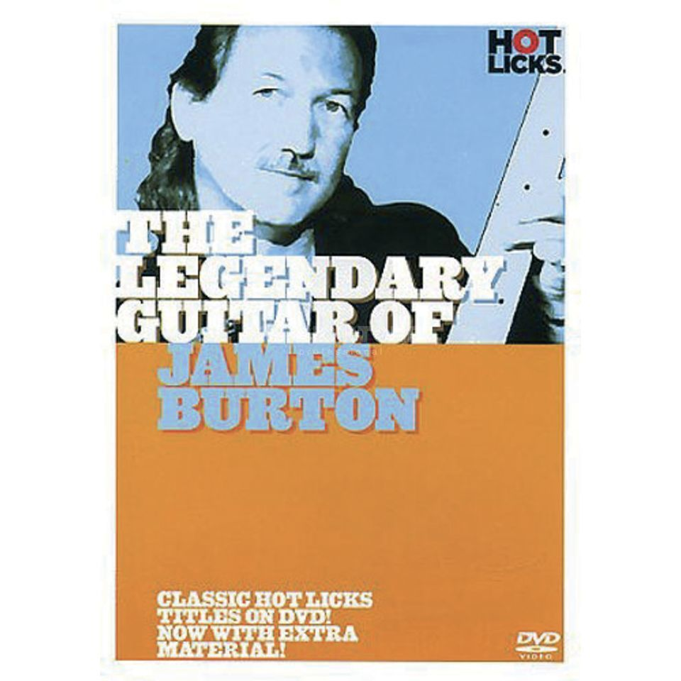 Hotlicks Videos James Burton - Legendary Guitar, Hot Licks, DVD Produktbillede