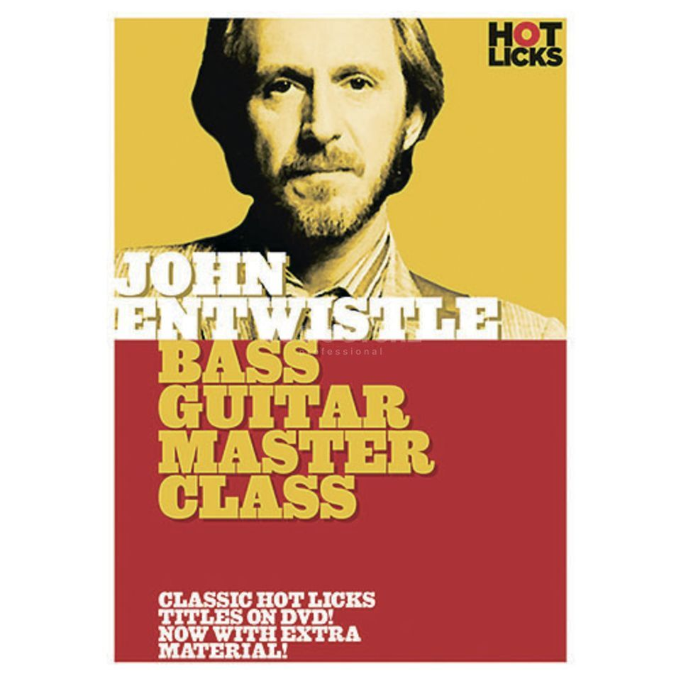Hotlicks Videos John Entwistle - Bass Guitar Masterclass, Hot Licks, DVD Produktbild