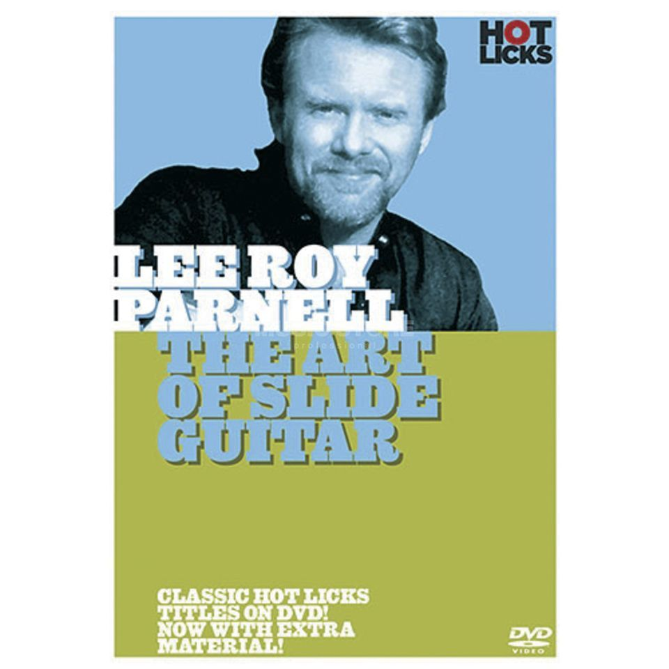 Hotlicks Videos Lee Roy Parnell - Art of Slide Guitar, Hot Licks, DVD Produktbillede