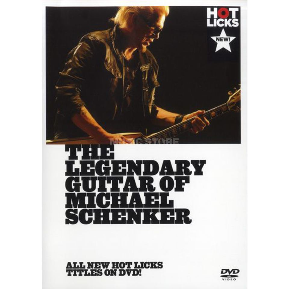Hotlicks Videos Legendary Guitar Of M Schenker Hot Licks, DVD Produktbillede