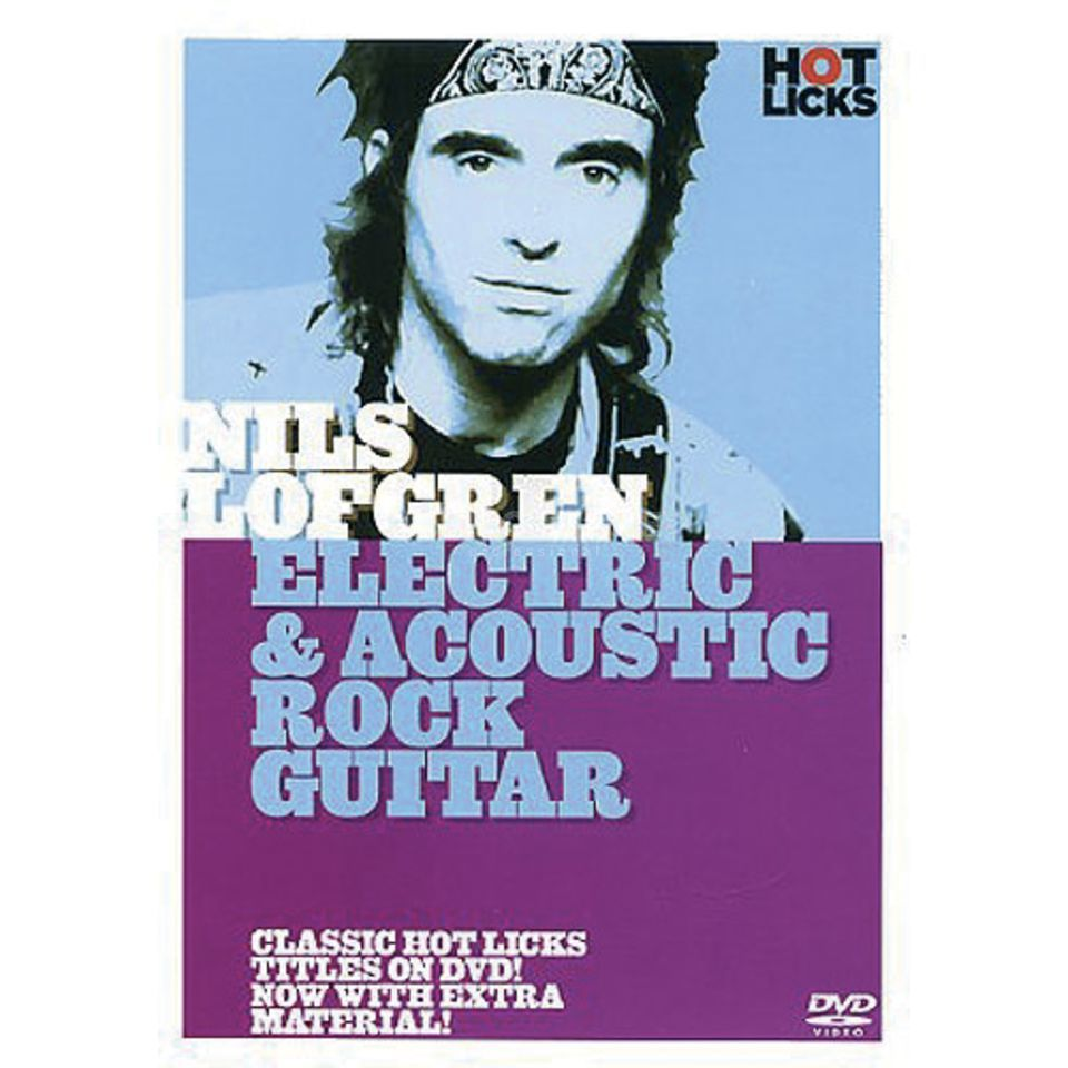 Hotlicks Videos Nils Lofgren - Electric & Acou Rock Guitar, Hot Licks, DVD Produktbild