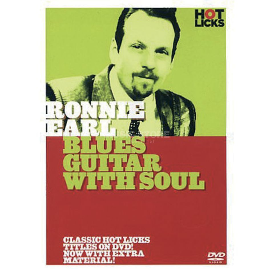 Hotlicks Videos Ronnie Earl - Blues Guitar with Soul, Hot Licks, DVD Produktbillede