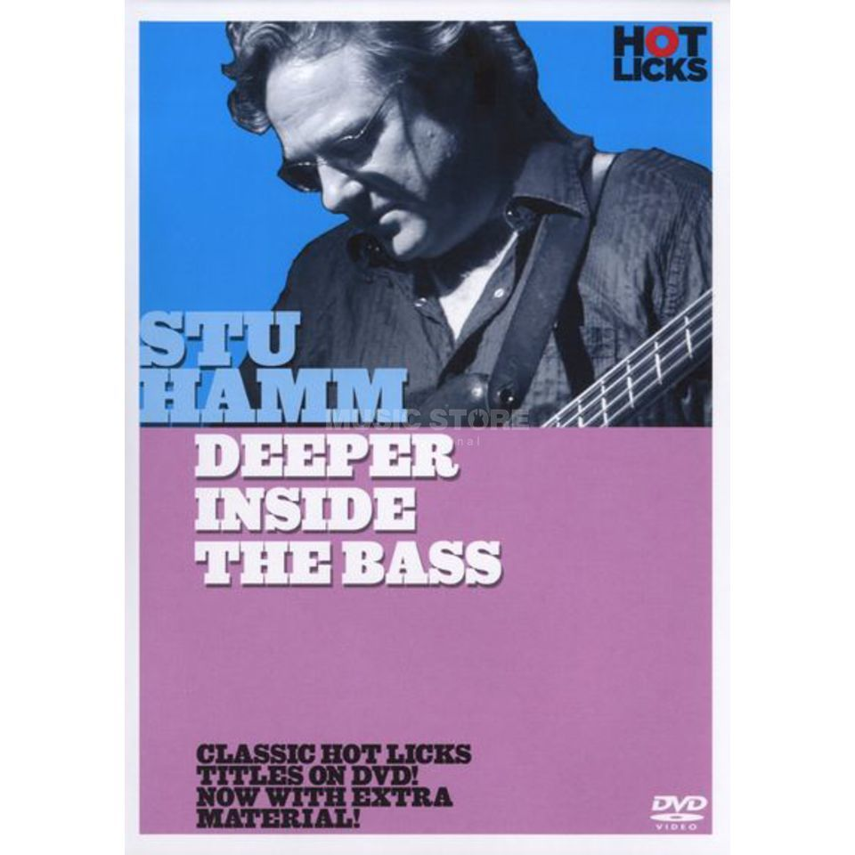 Hotlicks Videos Stu Hamm - Deeper Inside Bass Hot Licks, DVD Produktbillede