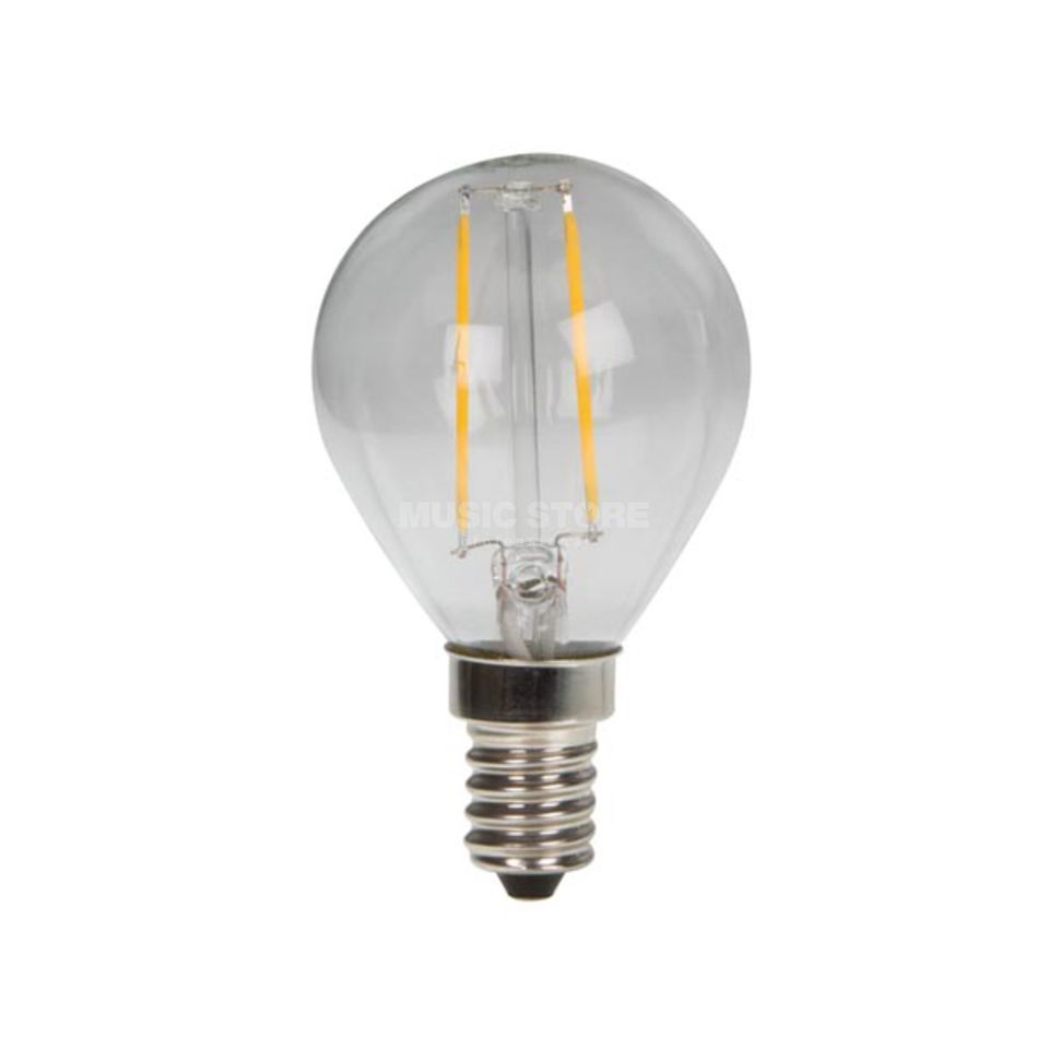 HQ Power LED Filament E14, 2W Leuchtmittel Edison G45, 2700K Produktbild