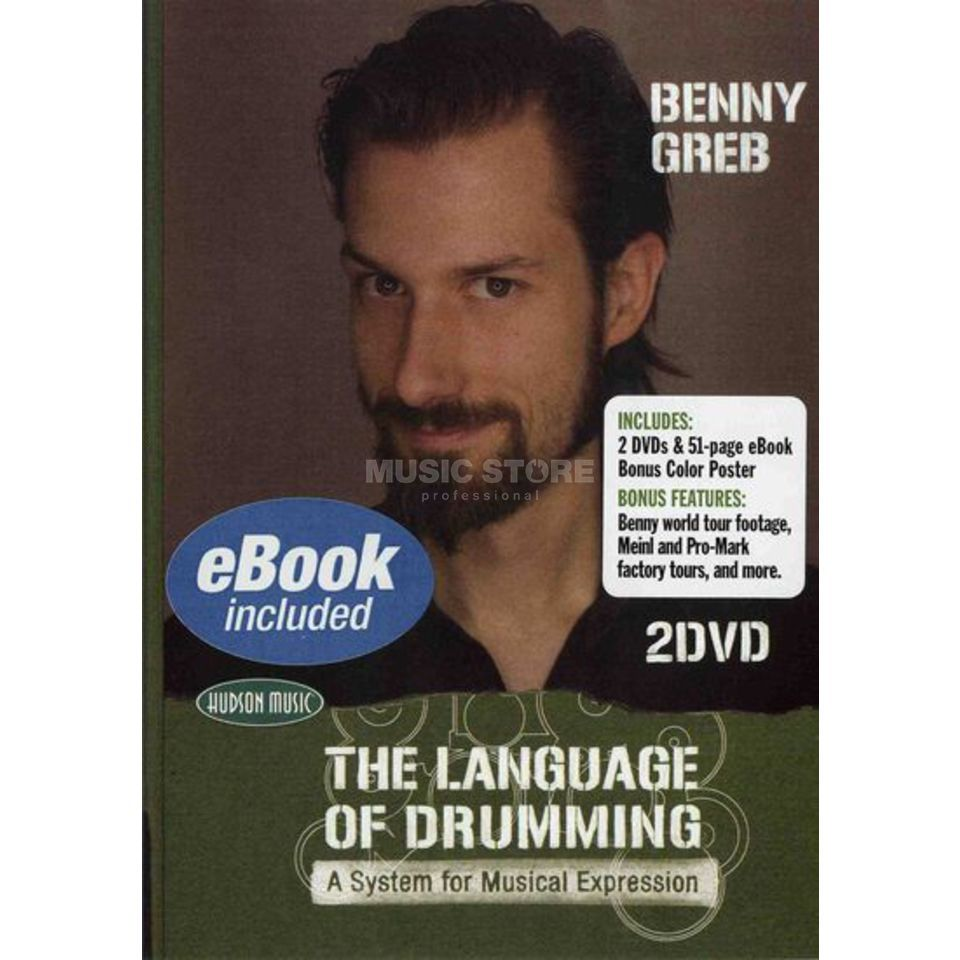 Hudson Music Benny Greb - Language of Drumm 2 DVDs Produktbillede