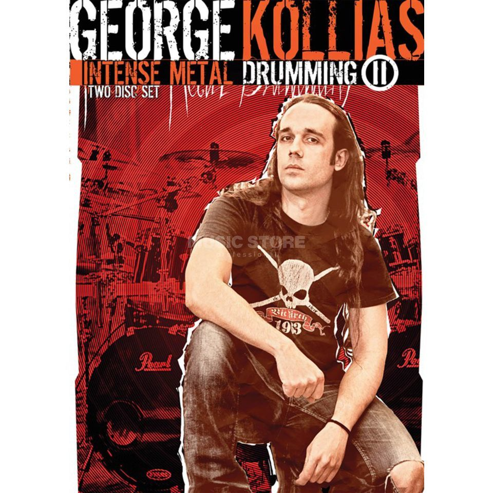Hudson Music Intense Metal Drumming II George Kollias, DVD Produktbillede