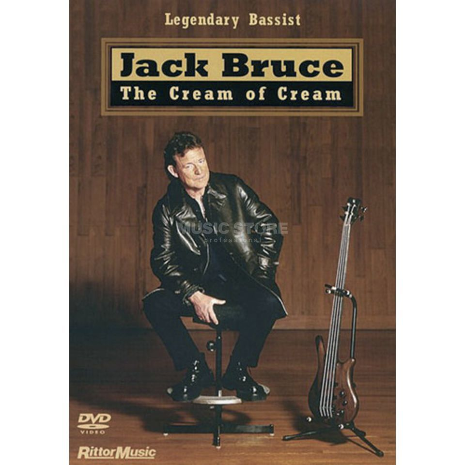 Hudson Music Jack Bruce: The Cream Of Cream DVD Produktbillede