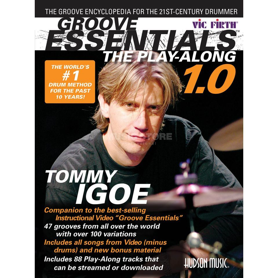 Hudson Music Tommy Igoe Groove Essentials 1 Sheet Music and CD Produktbillede