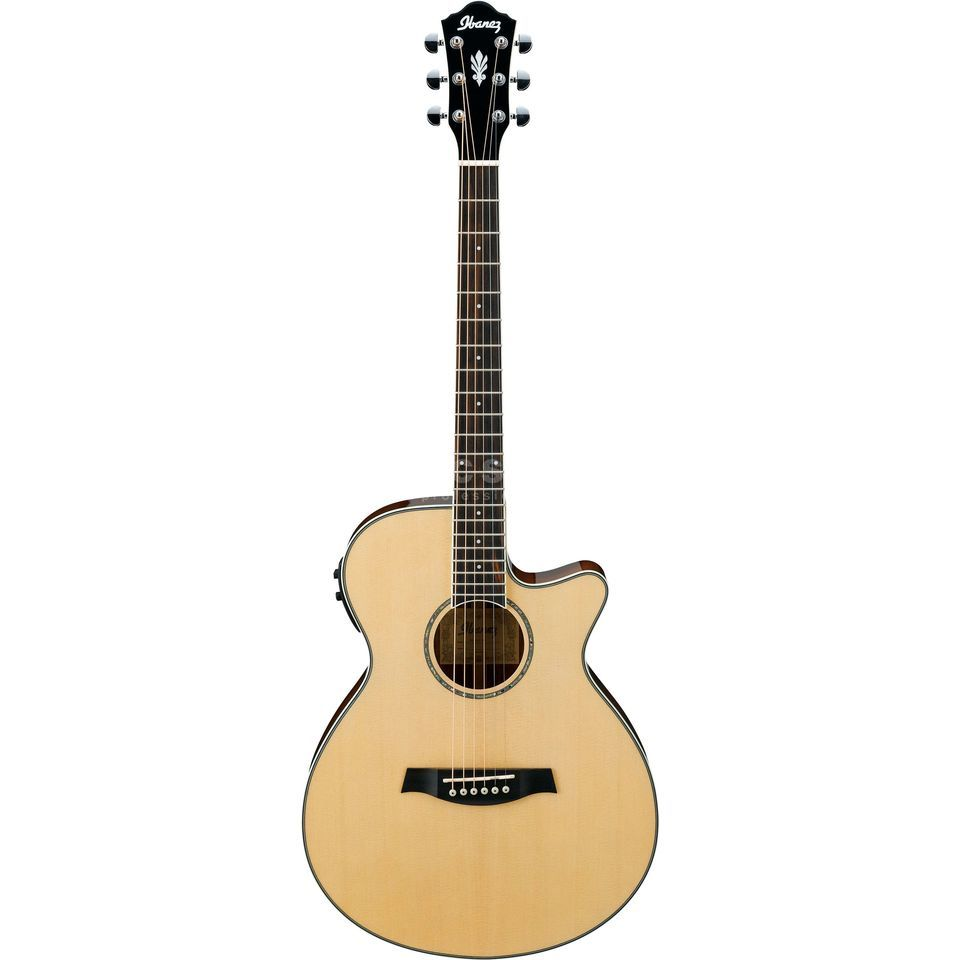 Ibanez AEG10II-NT Natural High Gloss Produktbillede