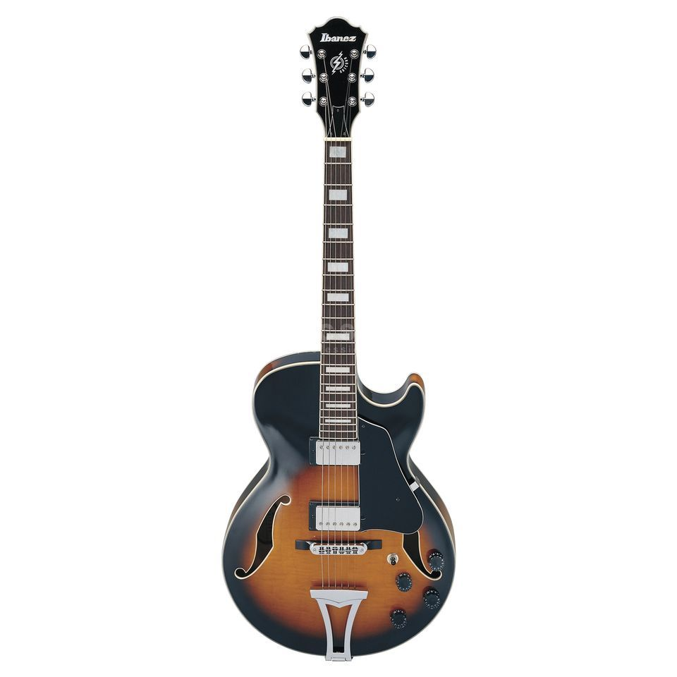 Ibanez AG75 Artcore Electric Guitar,  Brown Sunburst   Produktbillede