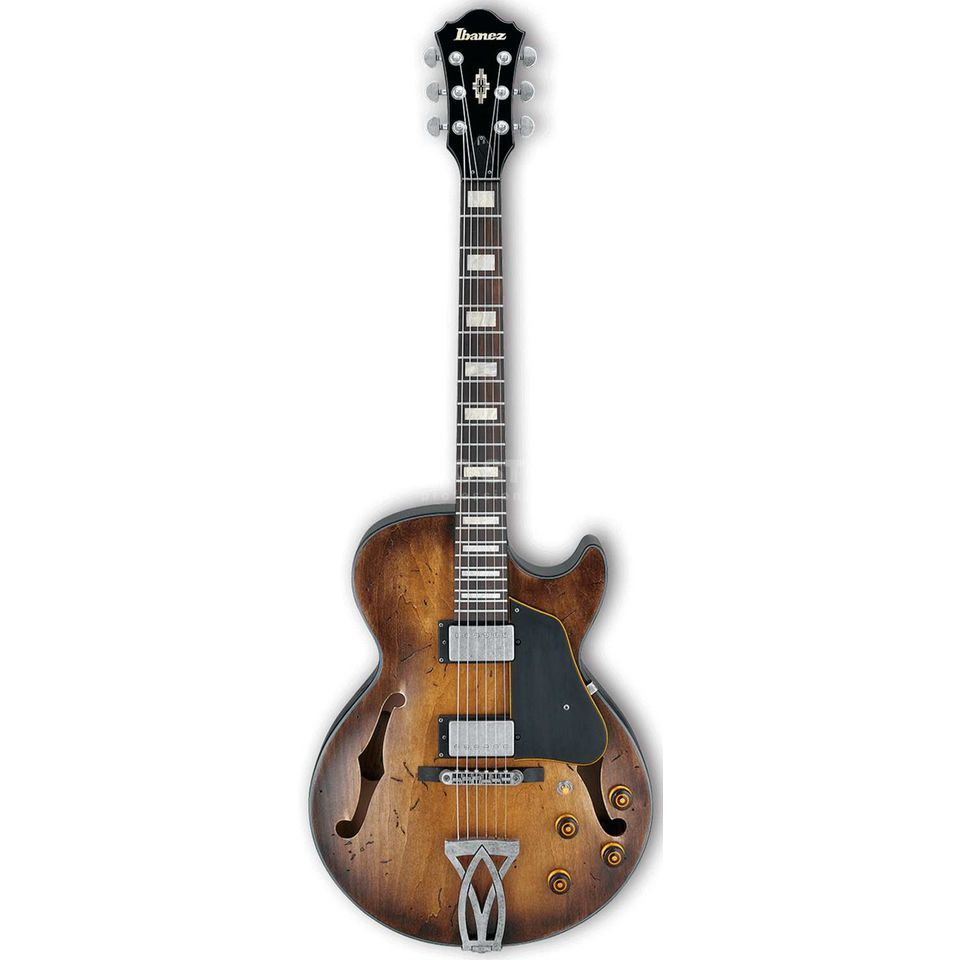 Ibanez Artcore Vintage AGV10A-TCL Tobacco Burst Low Gloss Изображение товара