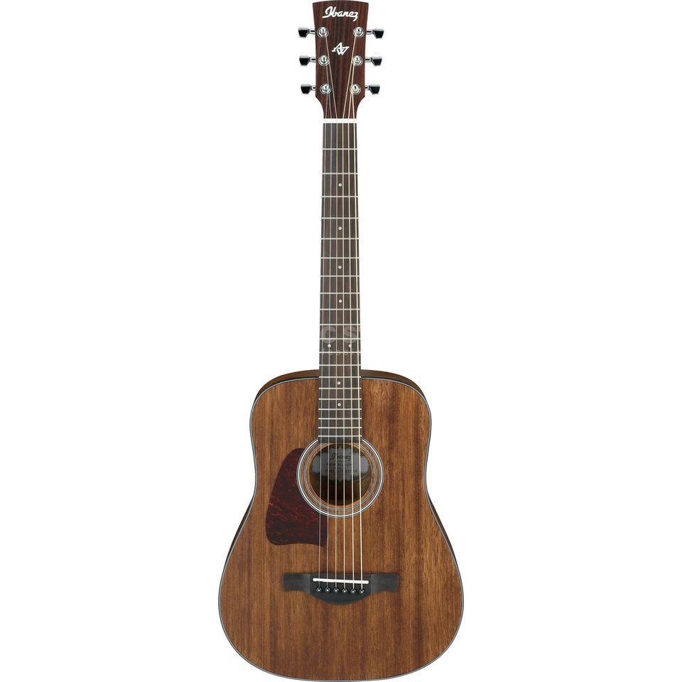 Ibanez Artwood AW54MINILB-OPN Lefthand 3/4 Dreadnought Open Pore Natural Produktbild