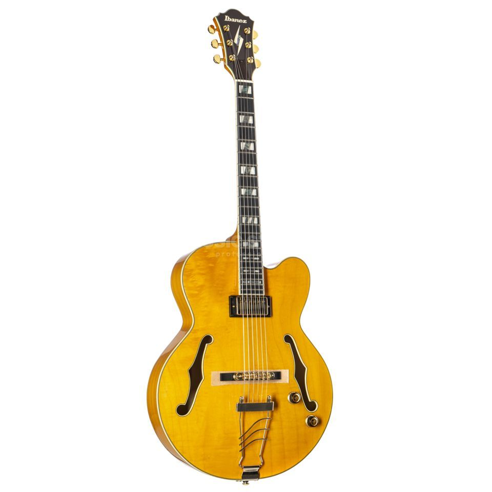 Ibanez AS Pat Metheny PM2-AA Antique Amber Produktbild
