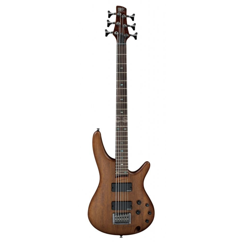 Ibanez Bass Workshop SRC6-WNF Walnut Flat Produktbild