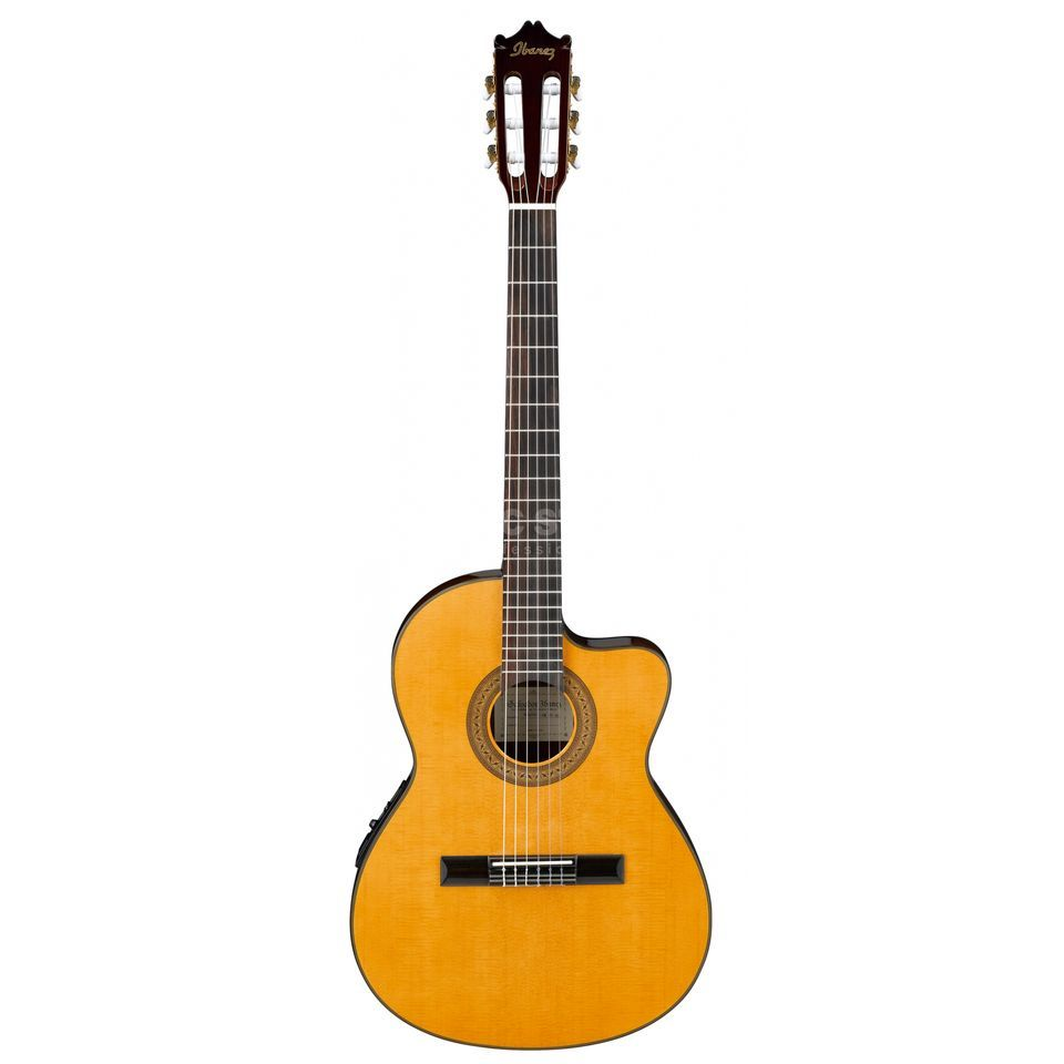 Ibanez Classical GA5TCE-AM Amber High Gloss Produktbild