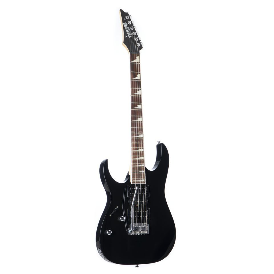 Ibanez GRG170DXL Left Handed Electric  Guitar, Black Night   Produktbillede
