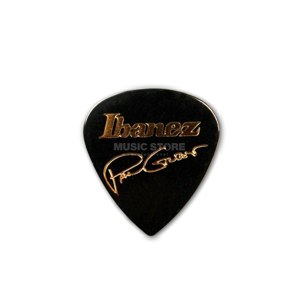 Ibanez Guitar Pick B1000PG-BK, 6-pack Paul Gilbert, black Produktbillede