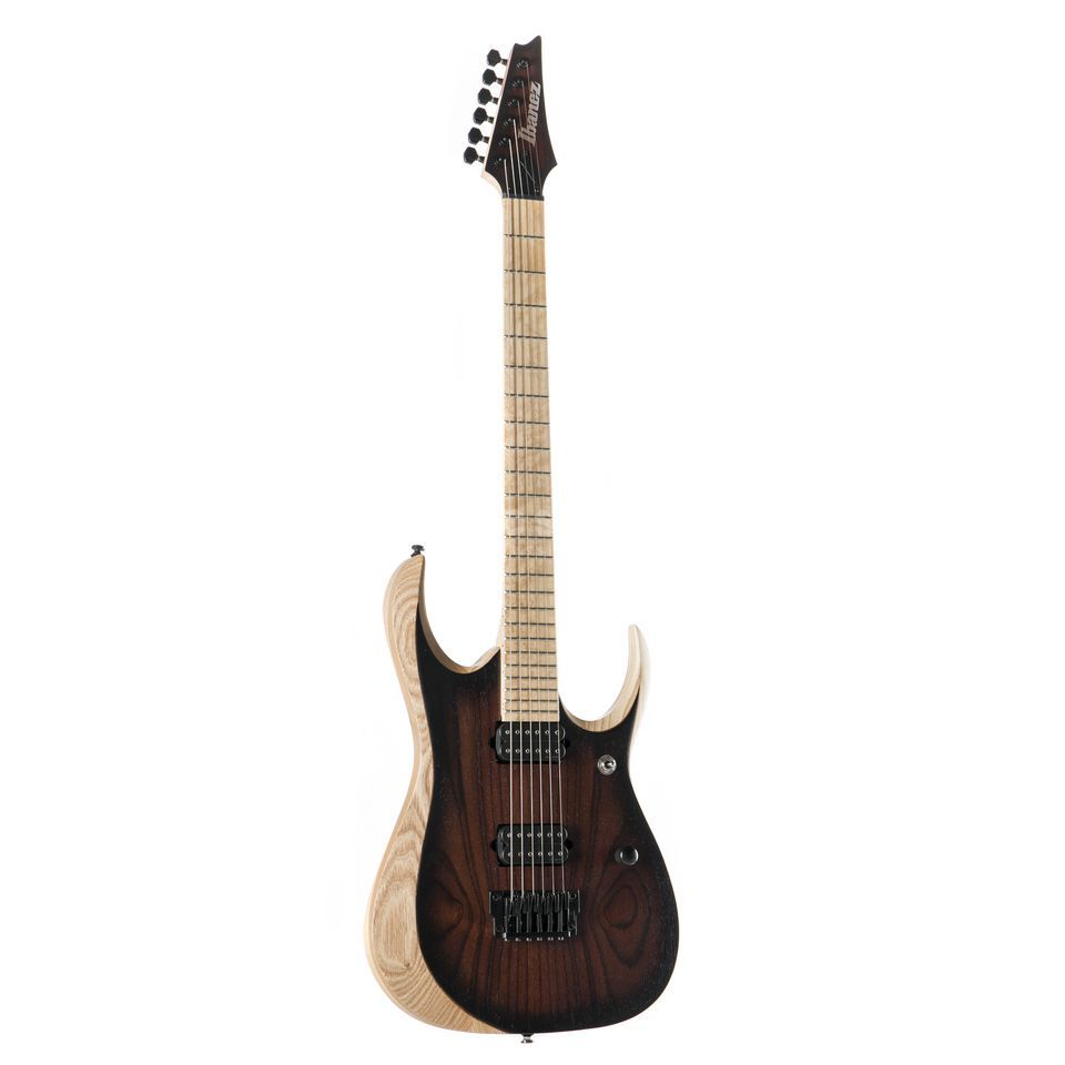 Ibanez Iron Label RGDIX6MRW-CBF Charcoal Brown Burst Flat Produktbillede
