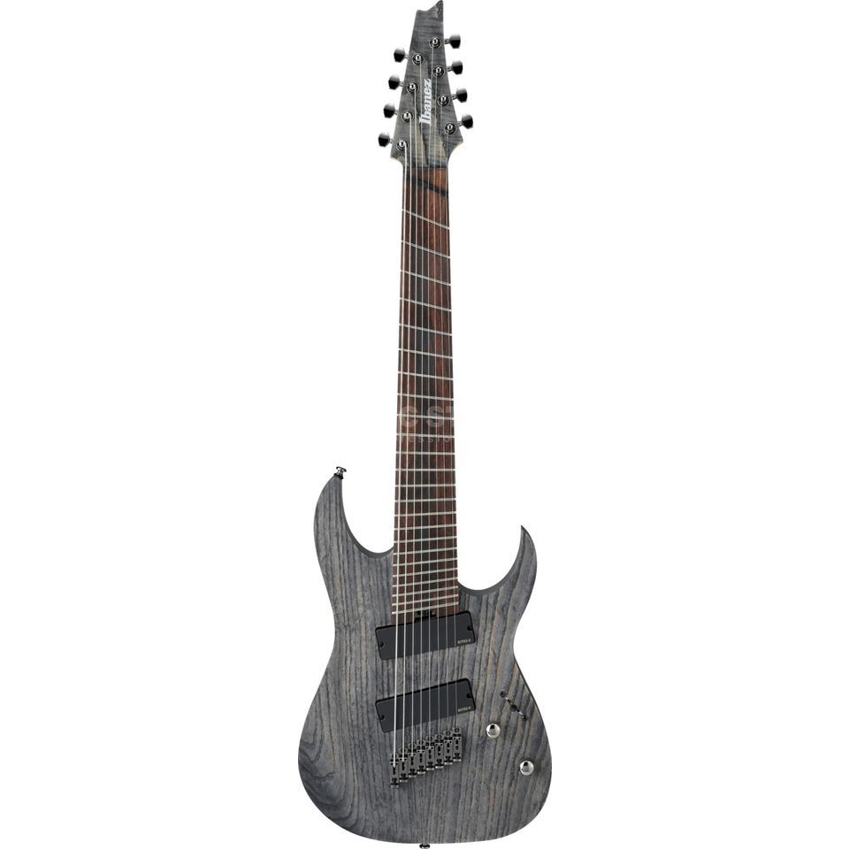 Ibanez Iron Label RGIF8-BKS 8-String Black Stained Fanned Fret Produktbild