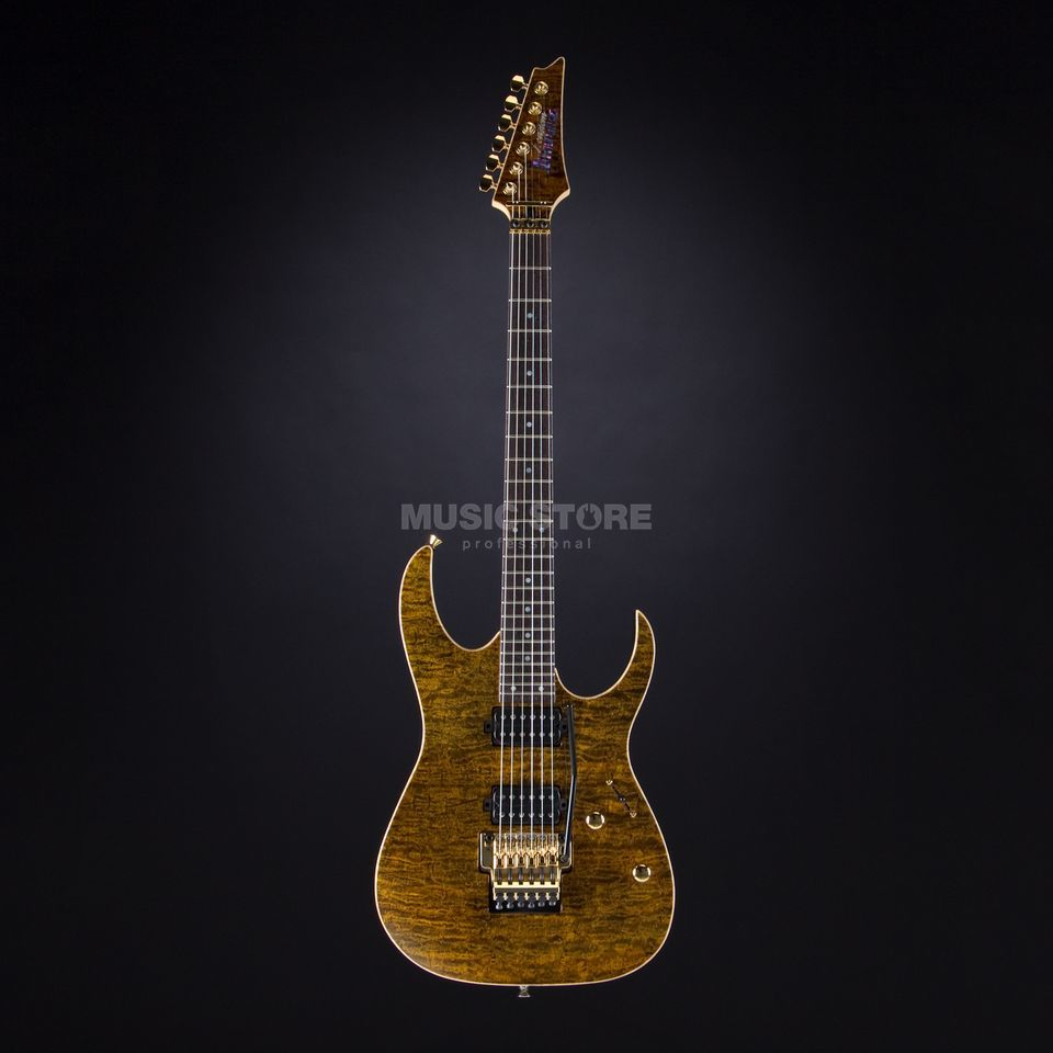 Ibanez j.custom JCRM11R-GTE Golden Tiger Eye Produktbillede
