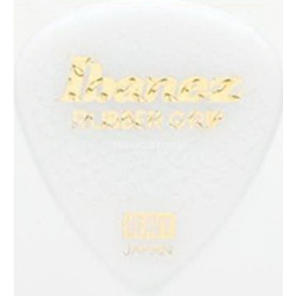 Ibanez PA16HRG-WH 1.0mm Rubber Grip Plectrums White Product Image