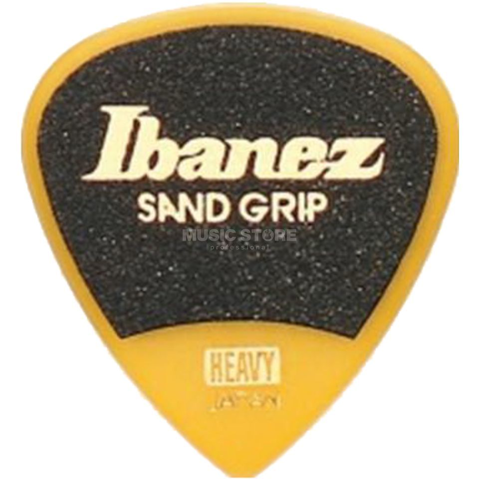 Ibanez PA16HSG-YE 1.0mm Sand Grip Plectrums Yellow Product Image
