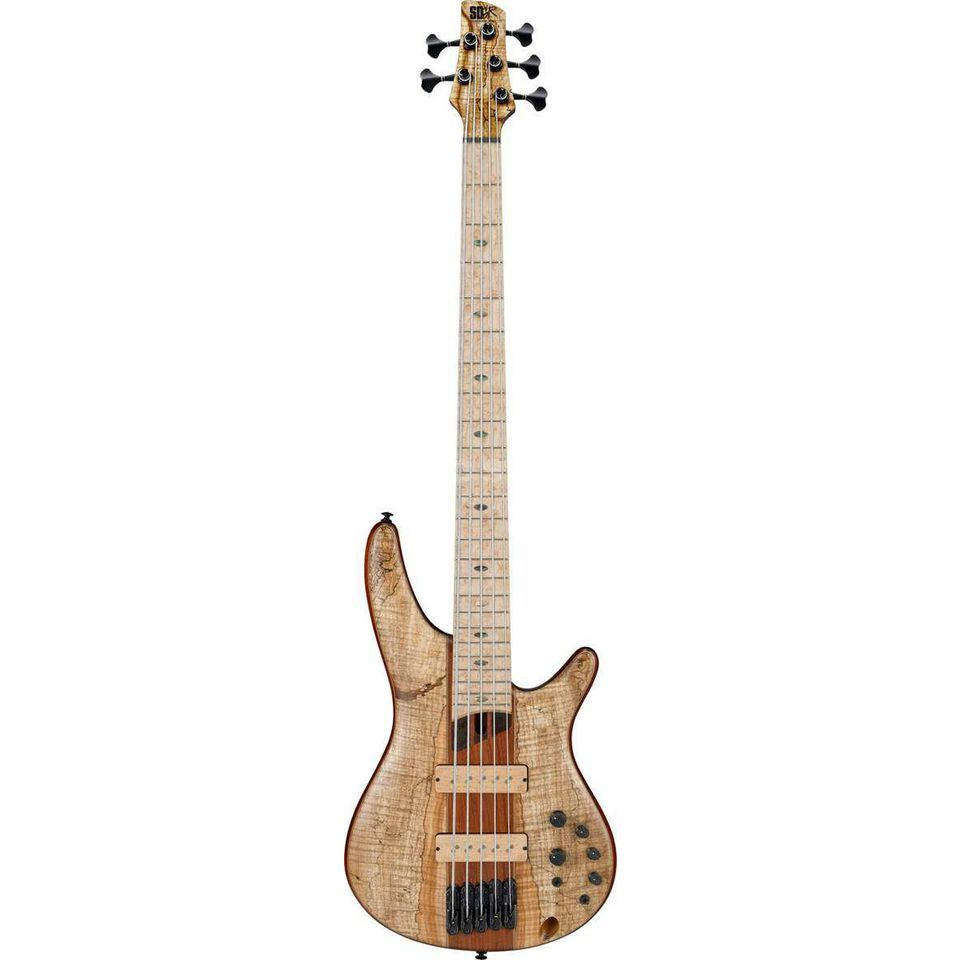 Ibanez Premium SR5SMLTD-NTF Spalted Maple Natural Flat Limited Edition Produktbillede