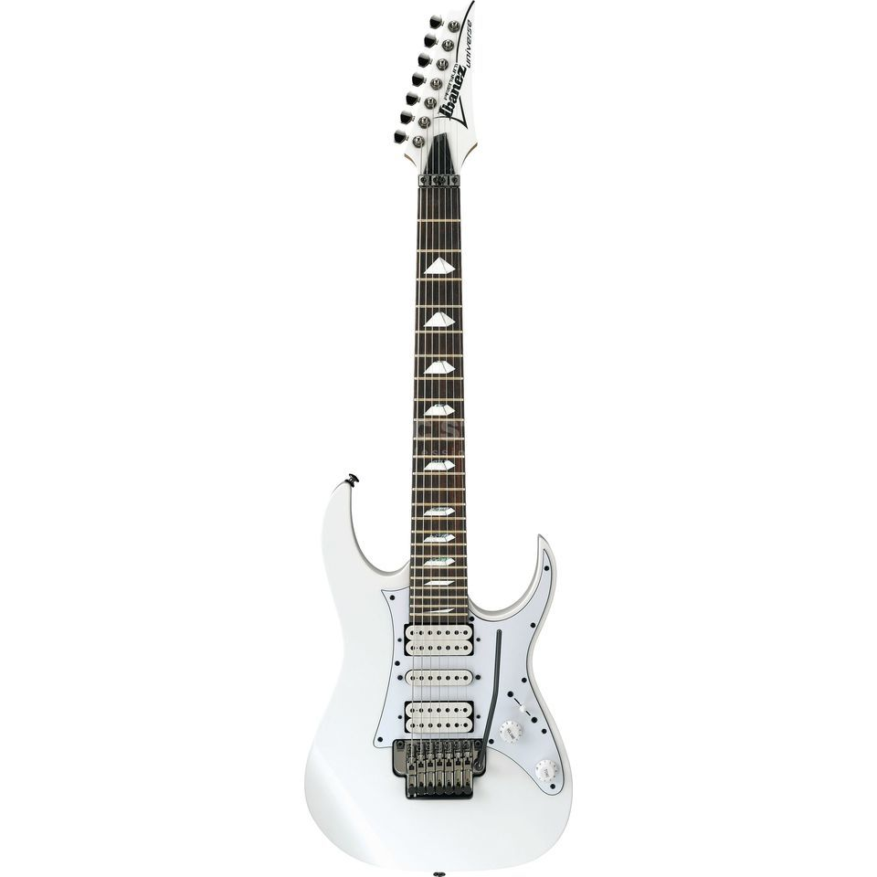 Ibanez UV71P-WH Universe White Produktbillede