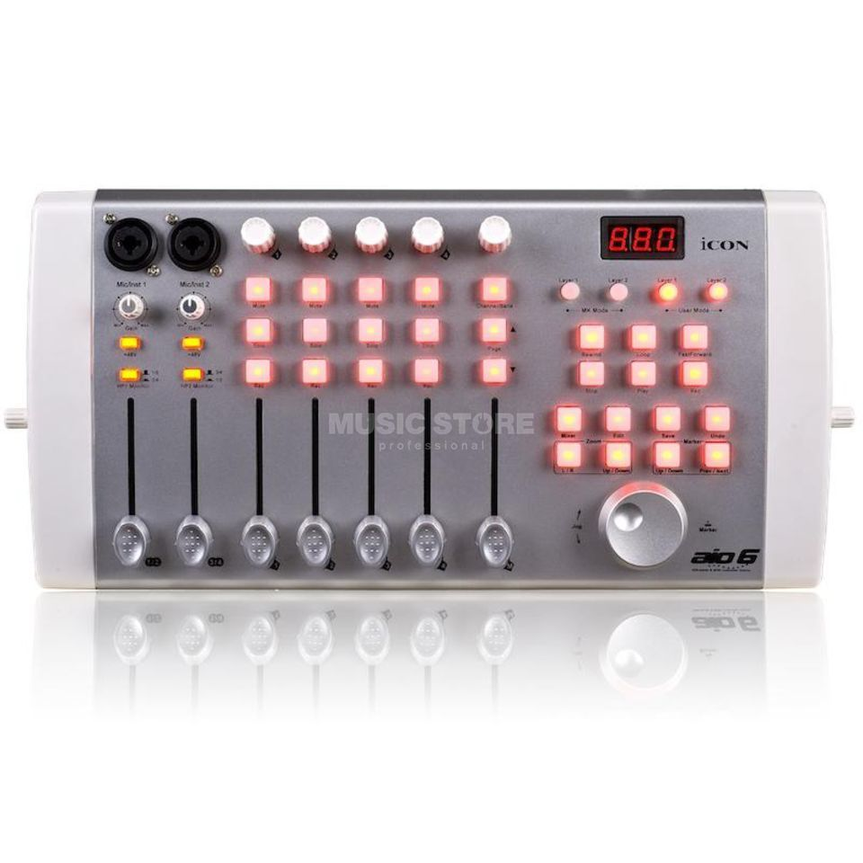 iCON aio6 Controller & Audio Interface Produktbild