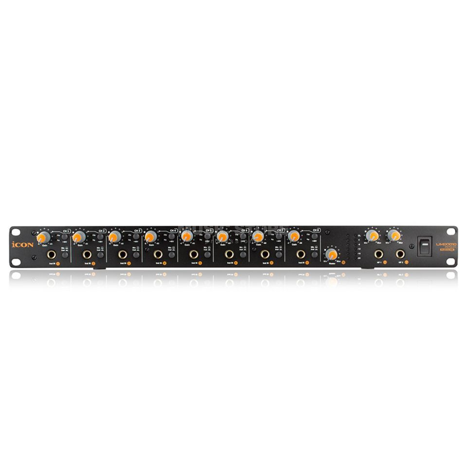 iCON Umix 1010 Rack 10-In/10-Out USB-Interface Produktbild