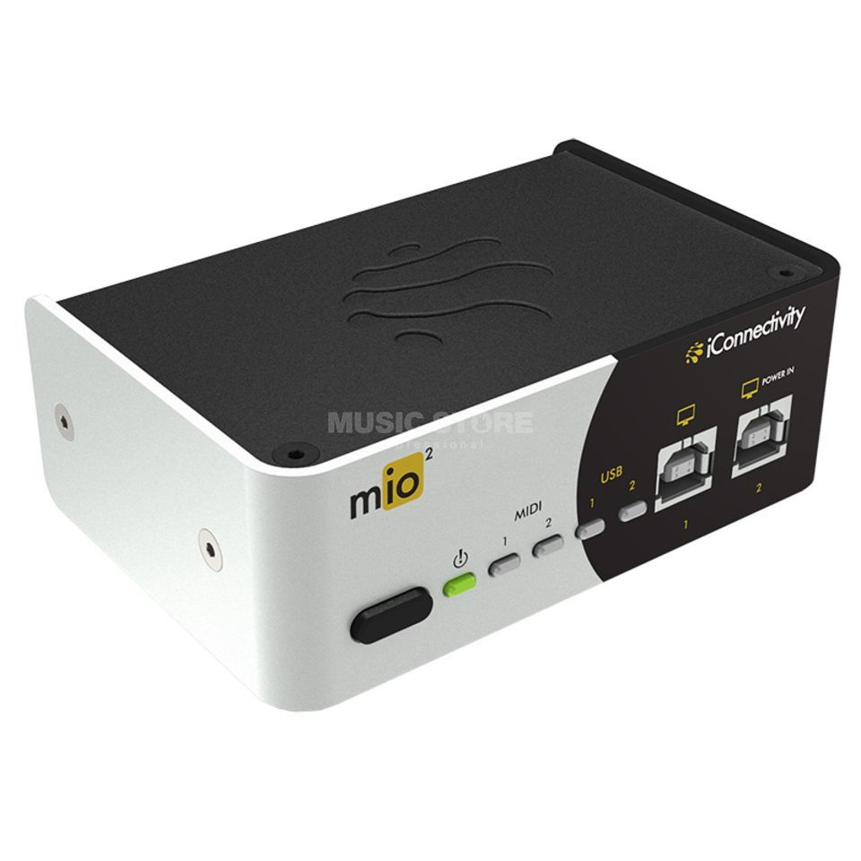 iConnectivity mio2 2in 2out MIDI to USB Interface Product Image