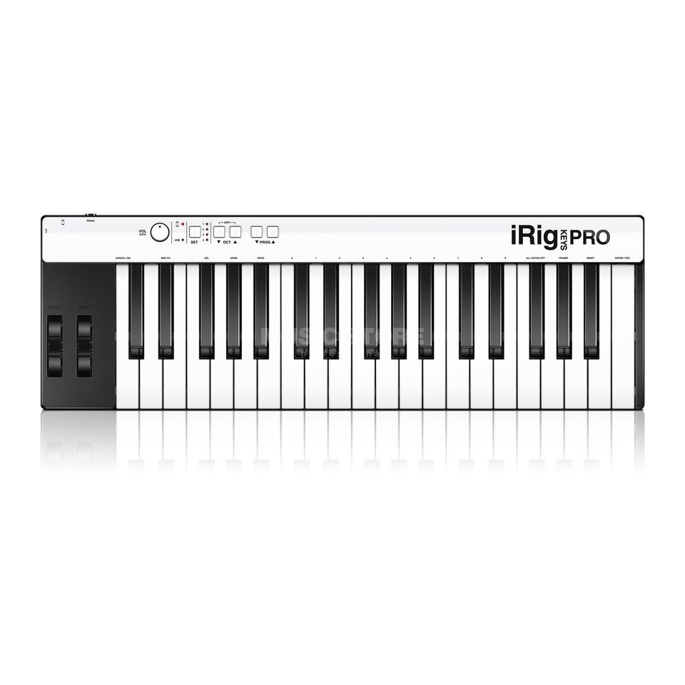 IK Multimedia iRig KEYS PRO MIDI Keyboard for iOS & Mac/PC Produktbillede