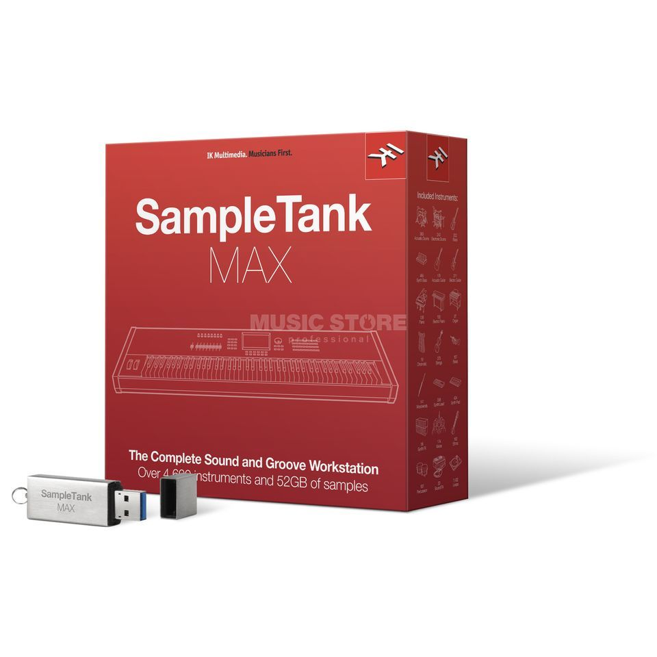 IK Multimedia SampleTank MAX - BUNDLE Produktbild