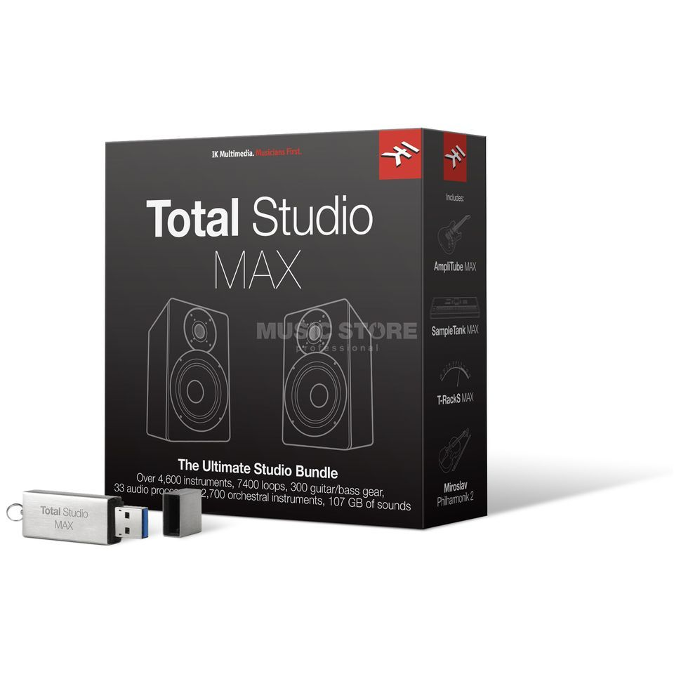 IK Multimedia Total Studio MAX - BUNDLE Produktbild