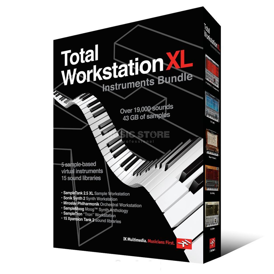 IK Multimedia Total Workstation XL Instruments Bundle Produktbild