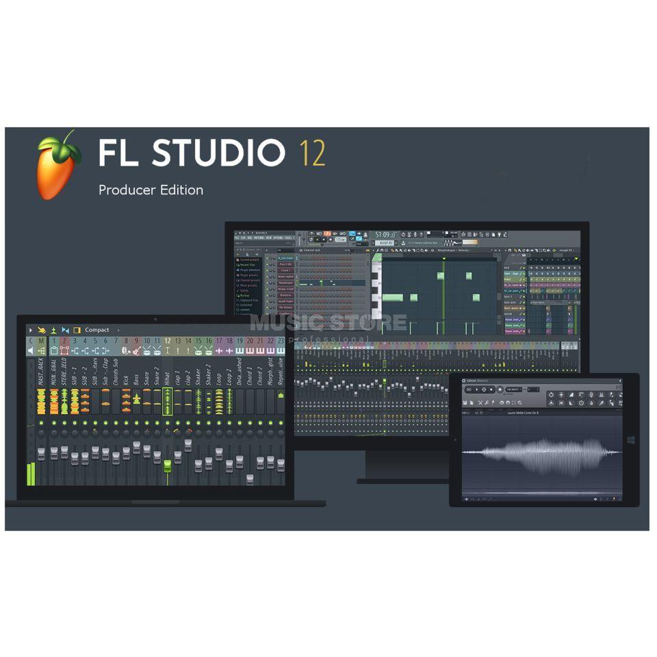image-line fl studio 12 producer edition daw-software