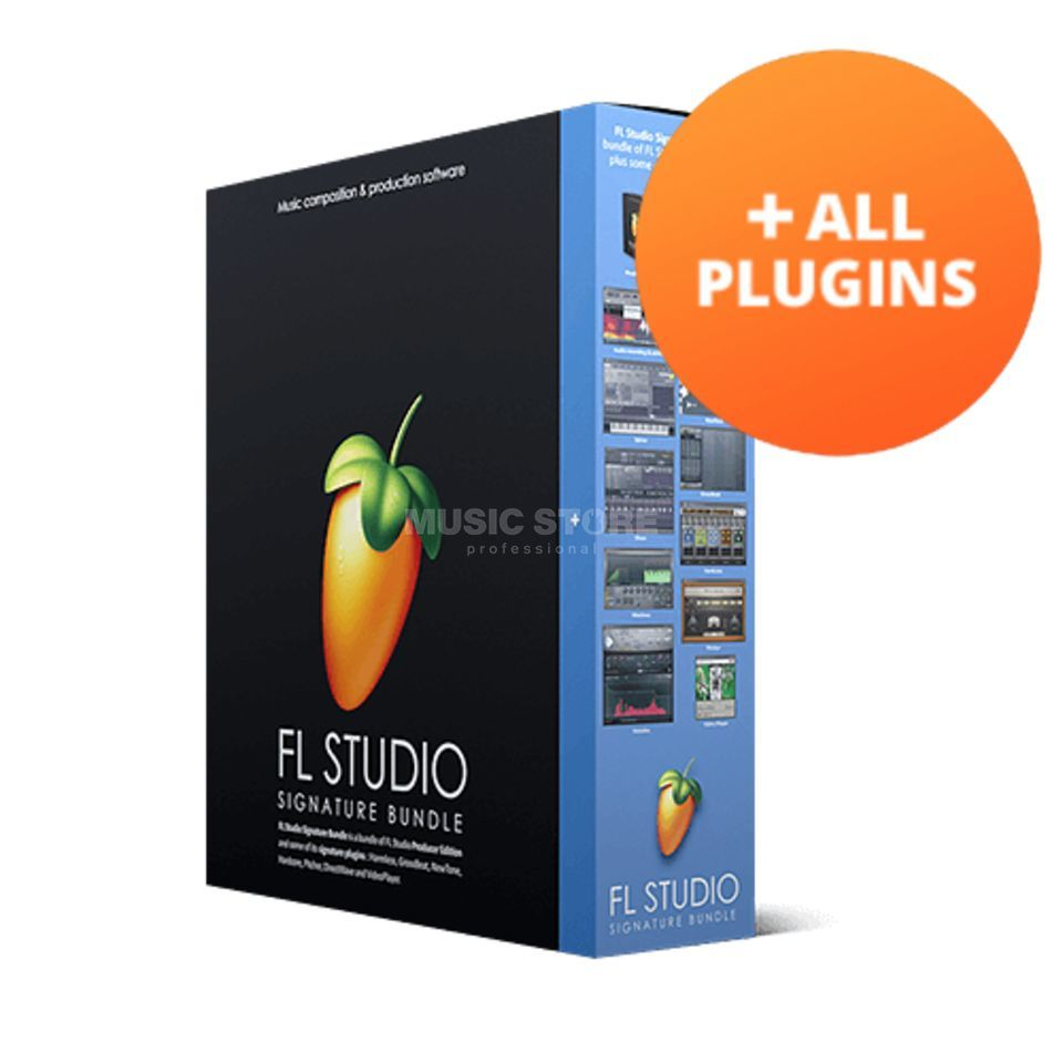 Imageline FL Studio 20 All Plug-In Bundle (Licence) Product Image