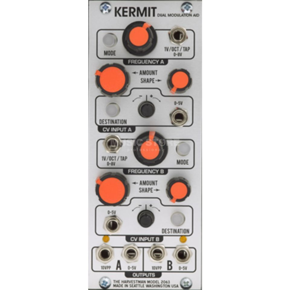 Industrial Music Electronics Kermit Dual Modulation Aid Product Image