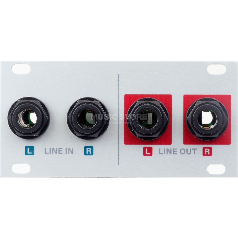 Intellijel 1U Audio I/O JACKS Product Image