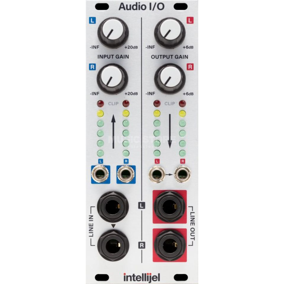 Intellijel Audio Interface II Eurorack to Balanced Pro Level Produktbillede