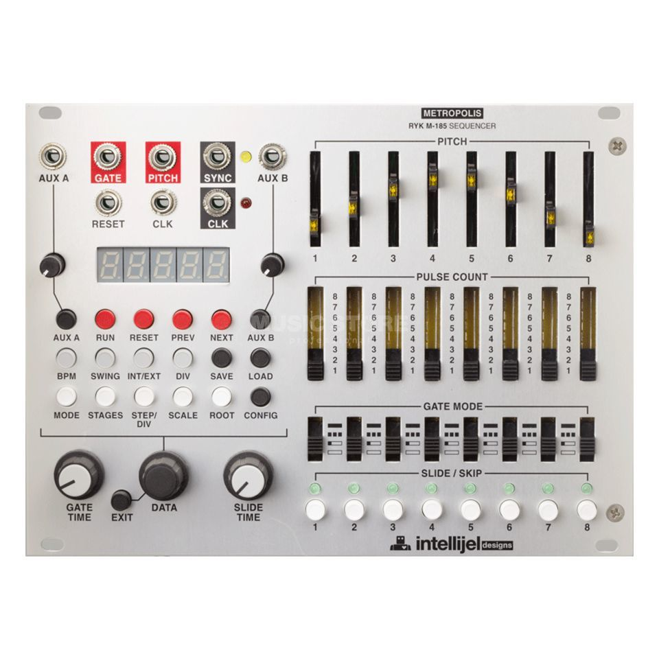 Intellijel Metropolis Complex multi stage Sequenzer Produktbillede
